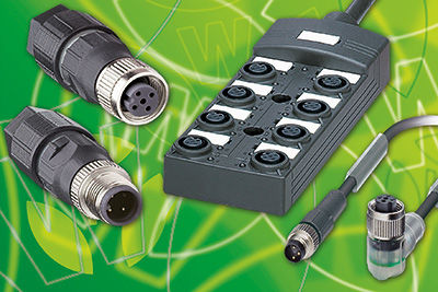 Wieland's saris M8/M12 connector range – fast, safe installation