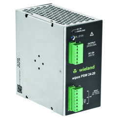 Wieland Electric has added the wipos PSW to the company's wipos power supply series to offer a wider range of input options